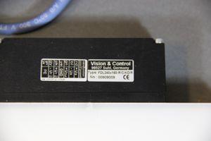 Vision & Control - Diffuse Flächenbeleuchtung LED - FDL240x160-R/C/KD/R – Bild 2