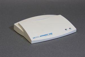 HP JETDIRECT 170X J3258B - Externer Druckserver Parallel-Port 10MBit/s – Bild 1