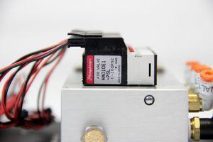 HUMPHREY - 6x Magnetventil Verteilerblock electromagnetic valve 24V HA010E1-PSL – Bild 4
