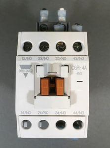 Carlo Gavazzi Schaltschütz Control Relay CGR-4A(D) 110 V Spule - Contactor – Bild 1