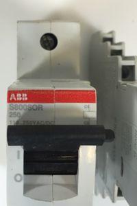 ABB Stotz Arbeitsstromauslöser S800-SOR 250 + S800-AUX/ 110-250 V AC/DC – Bild 2