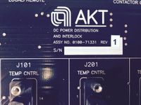 AMAT Applied Materials AKT  0100-71331 Rev.1 DC POWER DISTRIBUTION & INTERLOCK – Bild 2