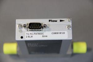 AERA - Mass Flow Controller für SiH4 - TC FC-PA7800C 2 SLM – Bild 1