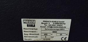 PRESSTA EISELE Reihenstanzanlage HMR 6 / 5 Stanzköpfe C-Gestell  – Bild 7