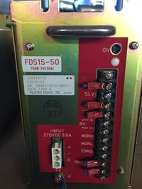 15V 50A Power Supply - Fujitsu Denso LTD. FDS15-50 750W – Bild 1