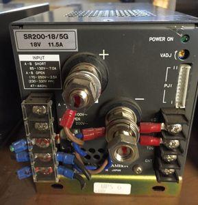 Nemic Lambda - Power Supply - SR200-18/5G - 18V 11.5A – Bild 1