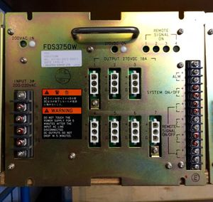 Fujitsu Denso Ltd. - Power Supply - FDS3750W 750 W (11 V 68 A) – Bild 1