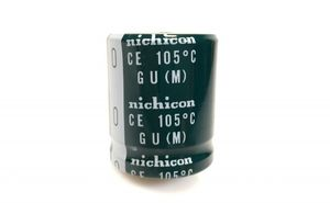 nichicon - ELKO Snap-in 400 V 270 µF 31x36 mm Kondensator – Bild 1