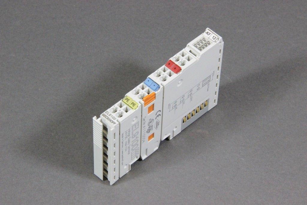 BECKHOFF Passive Potenzialeinspeiseklemme 24V DC EL9100