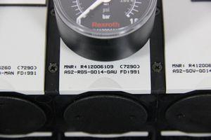 REXROTH - Wartungseinheit Baureihe AS2 - Absperrventil Druckregelventil Sensor – Bild 3