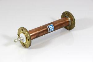 "MYAT Inc - 1 5/8"" 50 Ohm EIA Kabel Transmission Line - 10,00 Inch 128 25,4 cm"