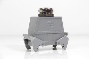 HARTING - Buchseneinsatz Han K 4/2-BU-S + Tüllengehäuse Han 16B-gg-QB-M40 – Bild 2