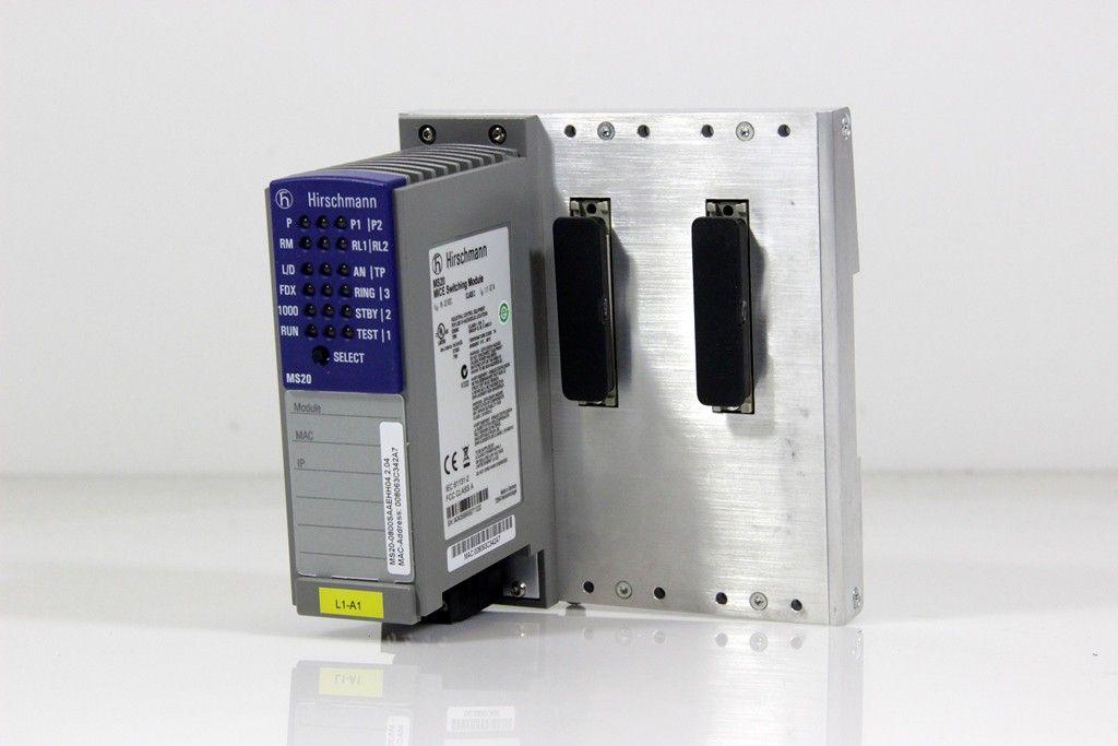 Modular Openrail Fast Ethernet Switch 8 Ports MS20-0800SAAEHH Hirschmann