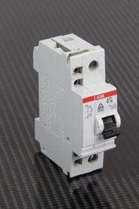 ABB - 16A 1P Leitungsschutzschalter K16 - S271 + Hilfsschalter S2-H – Bild 1