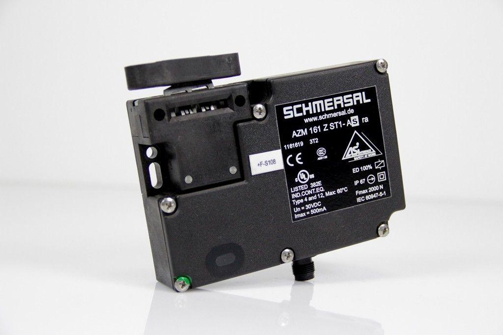 SCHMERSAL Sicherheitszuhalter mit Betätiger AZM 161 Z ST1-AS ra