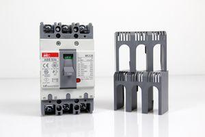 META MEC - 600VAC / 15A Circuit Breaker Lasttrennschalter - ABS 53b MCCB