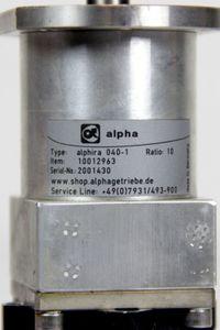 ESR MR6919.3670-D0020-U3-N60-G01-AK1-M0-P0-S0 Servomotor ALPHIRA 040-1 Getriebe – Bild 3