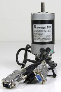 Servo Tecnica 60VDC Servomotor SVT57BL03-60V-50167BL02 + Drehgeber H40-6-0500VL – Bild 1