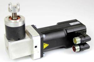 LTi Drives LSH-074-2-30-320/T1,B,S4,G6.1M Servomotor + Getriebe Neugart PLE 60 – Bild 1