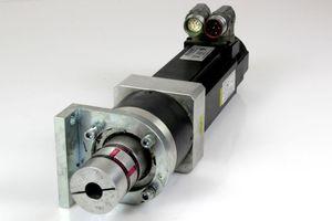 KOLLMORGEN AKM33H-ANC2R-00 Servomotor Motor + NEUGART PLE 80 Planetengetriebe – Bild 1