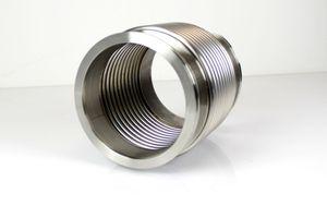 Vakuum-Federbalg ISO-K DN 160 Edelstahl Wellschlauch Vacuum stainless steel – Bild 1