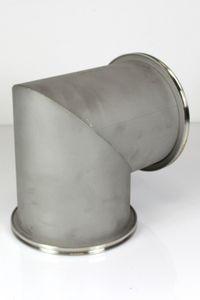 ISO-K DN 160 Vakuum-Eckstück 90° Bogen Edelstahl Vacuum stainless steel – Bild 5