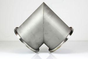 ISO-K DN 160 Vakuum-Eckstück 90° Bogen Edelstahl Vacuum stainless steel – Bild 6