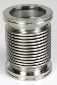 ISO-K DN63 Vakuum Federbalg Wellbalg Edelstahl Vacuum stainless steel – Bild 2