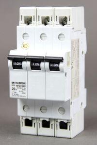 MITSUBISHI Leitungsschutzschalter NF50-SMU 3P 20A Circuit Breaker – Bild 1