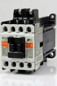 FUJI ELECTRIC SC-0/G Schütz CONTACTOR CAT. NO: 4GC0F0#10 – Bild 1