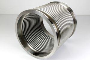 Vakuum-Federbalg ISO-K DN200 Edelstahl Vacuum stainless steel – Bild 1