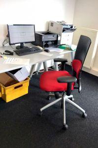 KÖNIG + NEURATH Drehstuhl Bürostuhl Stuhl mit Armlehne & Lordosenstütze – Bild 2