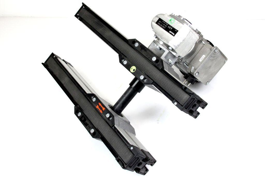 REXROTH Motor rechts Getriebe Bandstrecke Förderband Transportband BS 2/M L 440mm