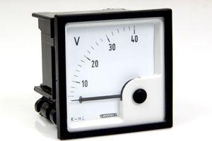 WEIGEL EQ 72 K Messgerät Messinstrument Analog Meters DC Anzeigegerät 0 - 40 V – Bild 1
