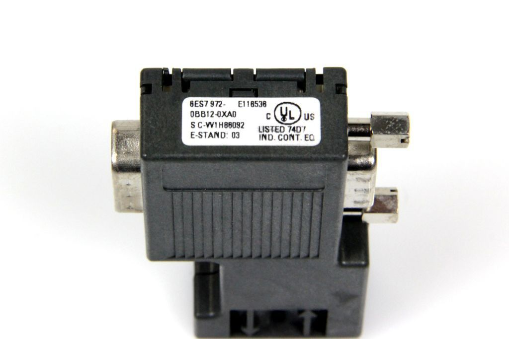 SIEMENS 6ES7 972-0BB51-0XA0 NEW SIMATIC PROFIBUS DP CONNECTOR 6ES79720BB510XA0