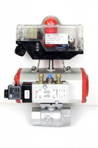 Pneumatischer Schwenkantrieb EA KA25-EE55 + EE620552 + 9710000 + TCR3MVSAZK – Bild 1