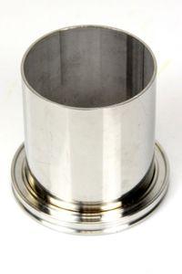 Vakuum ISO K Flansche mit Rohransatz ISO-K DN 80 Vacuum NEU – Bild 1