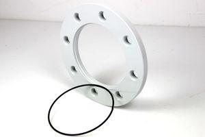 Überwurflansche + Sprengring ISO DN 100 Stahl Vacuum Rotatable boltrings steel – Bild 2