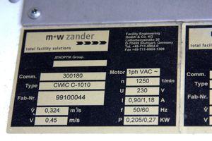 M+W ZANDER - Reinraumarbeitskabine Reinraumzelt 1800x2400 mm - CWIC-Standard  – Bild 8