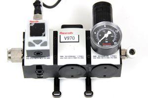 REXROTH - AS2 Wartungseinheit - Verteiler Absperrventil Druckregelventil Sensor – Bild 1