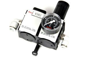 REXROTH - AS2 Wartungseinheit - Absperrventil Druckregelventil Druckmesser – Bild 1
