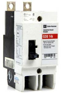 Cutler-Hammer GDB 14K 20 AMP LEISTUNGSSCHALTER Industrial Circuit Breaker  – Bild 1