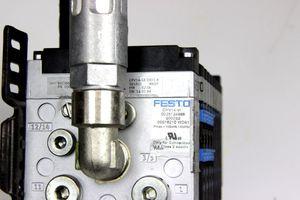 FESTO Ventilinsel CPV14-VI 18210 Magnetventil Elektrik-Anschaltung Schalldämpfer – Bild 4