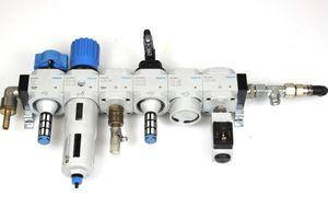 FESTO - Wartungseinheit Wartungsgeräte-Kombination 185788 + Abzweigmodul 164953 – Bild 1