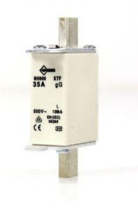 WEBER NH Sicherung Sicherungseinsatz Gr.000 KTF 35 A 500 V fuse