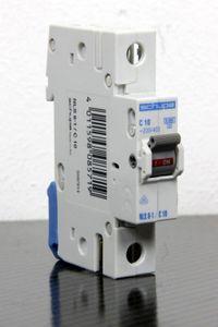 Schupa NLS6-1/C10 Leitungsschutzschalter 1 polig C 10 A