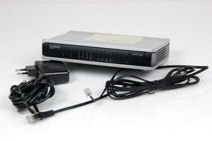 LANCOM 1721 VPN Annex B USB LAN Router ADSL 100 Mbps - VoIP-Gateway  – Bild 1
