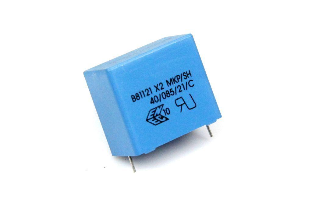 Epcos Elko Kondensator radial 68 µF 400 V 105° 22x30mm ra.10mm 2 Stück