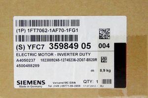 SIEMENS SIMOTICS S 1FT7062-1AF70-1FG1 - Synchronmotor 1,7kW 3000U/min – Bild 3
