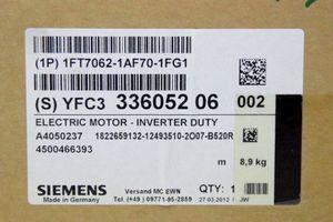 SIEMENS SIMOTICS S 1FT7062-1AF70-1FG1 - Synchronmotor 1,7kW 3000U/min – Bild 6